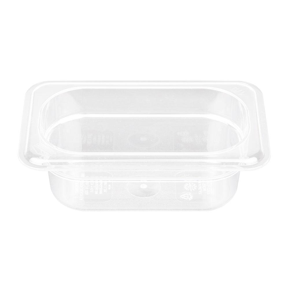 "Cambro 92CW135 Camwear Food Pan - 1/9 Size, 2-1/2""D Clear"