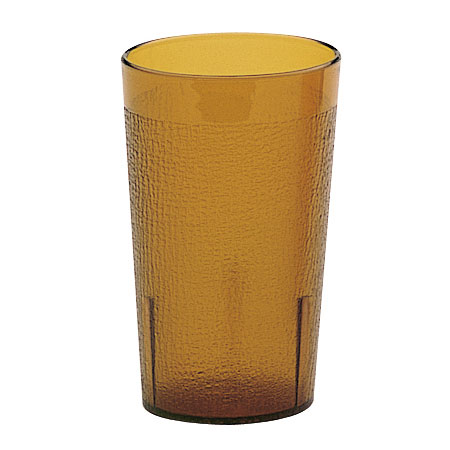 Cambro 950P2153 9.8-oz Colorware Tumbler, Amber