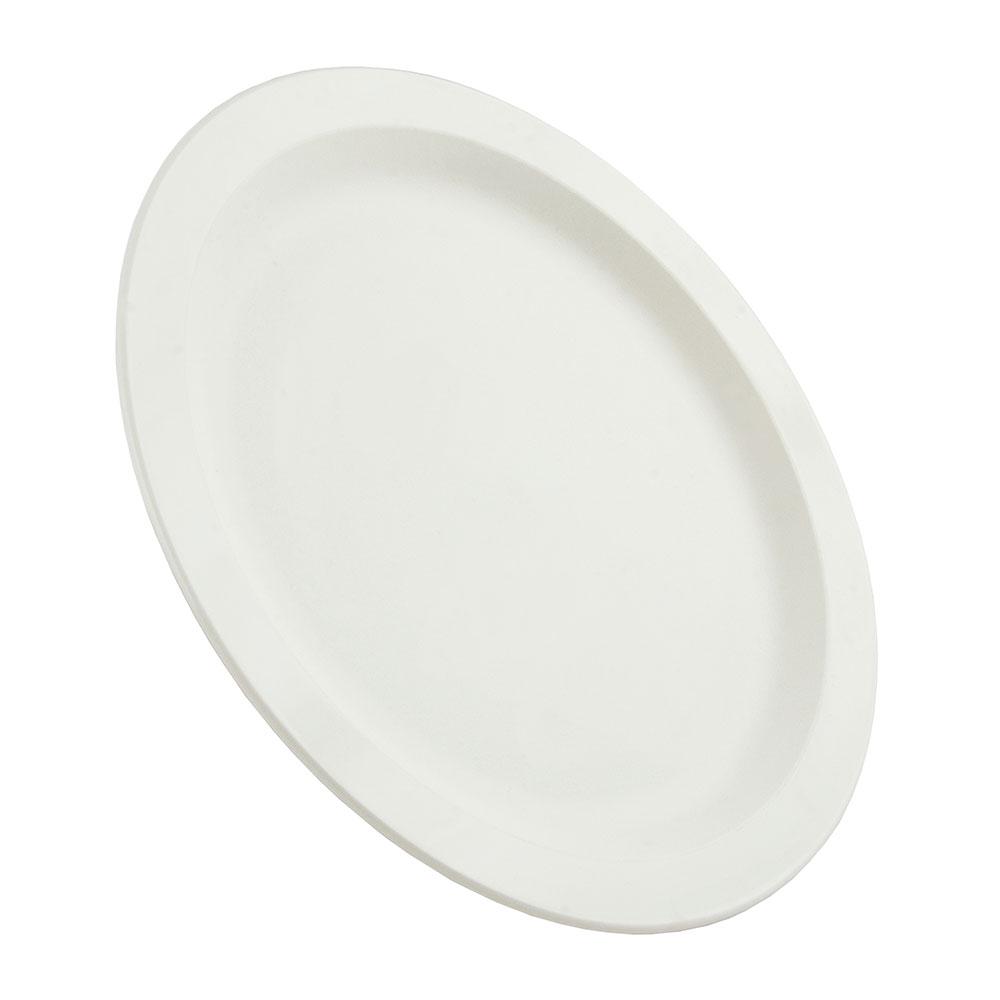 "Cambro 9CWNR148 9"" Camwear Plate - White"