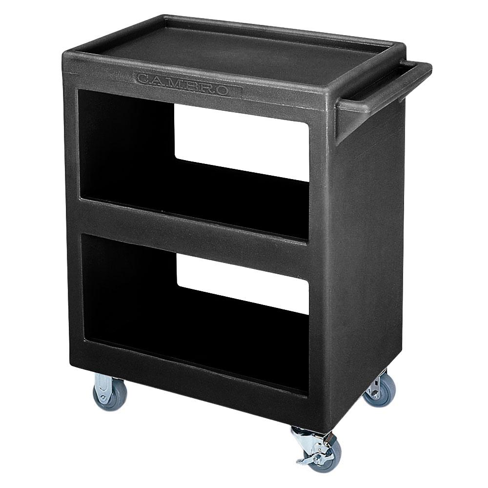 Cambro BC225110 Service Cart - (3)Shelves, 350-lb Capacity, Black