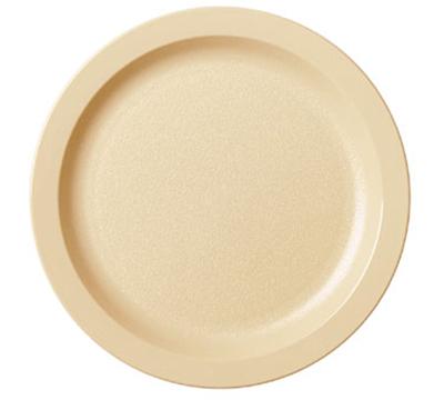 "Cambro 9CWNR110 9"" Camwear Plate - Black"