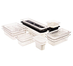 "Cambro 46CW110 Camwear Food Pan - 1/4 Size, 6""D, Black"