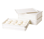 "Cambro DB18266CW148 Pizza Dough Box - 26x18x6"" White"