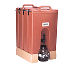 Cambro 1000LCD158 10-gal Camtainer Beverage Carrier - Insulated, Hot Red