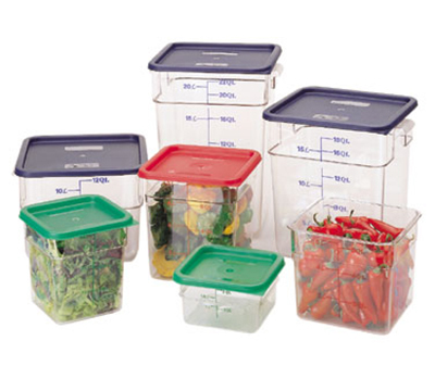 Cambro 4SFSCW135 4-qt CamSquare Food Container - Clear