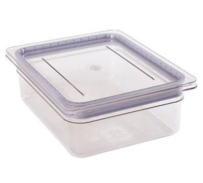 Cambro 10CWGL135 Camwear GripLid - Full-Size Food Pan, Clear
