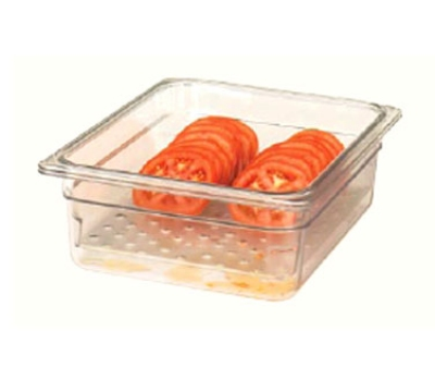 """Cambro 13CLRCW135 Camwear Colander - Full Size, 3""""D, Clear"""
