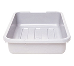 "Cambro 1520CBP180 Cambox Bus Box - 15-5/16x20x5"" Hi-Gloss, Light Gray"