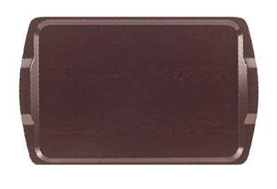 "Cambro 1525RST-384 Rectangular Room Service Tray - 14x21"" Venge"