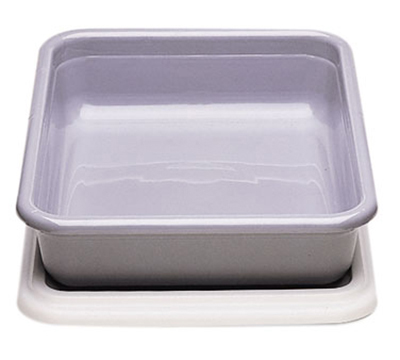 "Cambro 1722CBP180 Cambox Bus Box - 17x22x5"" Hi-Gloss, Light Gray"