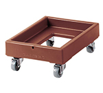 "Cambro CD100157 Camdolly - 28-5/8x19-5/8x10-1/2"" 300-lb Capacity, Coffee Beige"