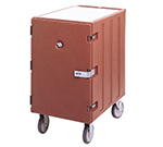 Cambro 1826LTCSP157 Camcart Sheet Pan/Tray Cart - Security Package, Coffee Beige