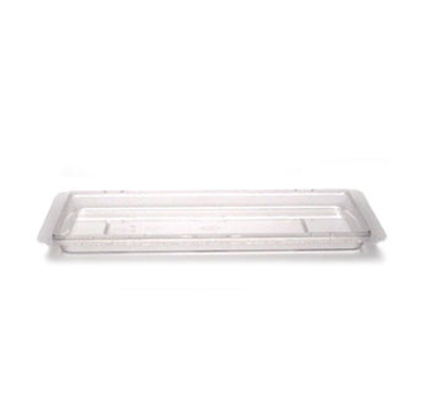 "Cambro 1218CCW135 Camwear Food Storage Cover - Flat, 12x18"" Clear"