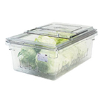 "Cambro 18268CLRKIT135 Camwear Colander/Storage Box Kit - Full Size, 8""D Clear"