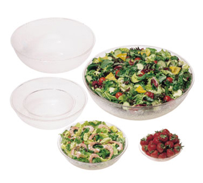 "Cambro PSB6 6"" Camwear Salad Bowl - 18.8-oz Capacity, Pebbled"