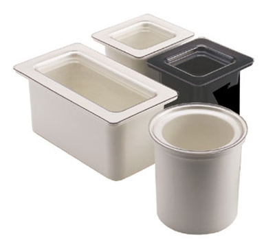 Cambro CFRC18135 ColdFest Crock Cover - Flat, Clear