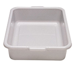 "Cambro 21155CBR131 Cambox Bus Box with Handle - 15-1/4x20-1/4x5"" Hi-Impact, Dark Brown"