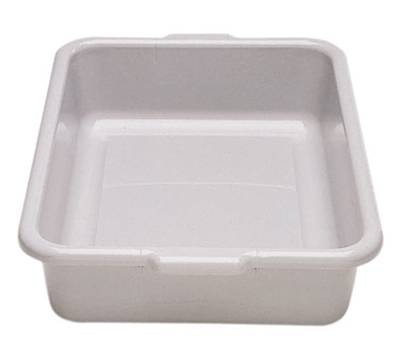 "Cambro 21155CBR110 Cambox Bus Box with Handle - 15-1/4x20-1/4x5"" Hi-Impact, Black"