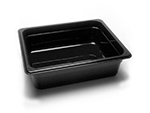 Cambro 24CW135 Camwear Food Pan - Half Size, 4"D, Clear