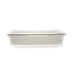 Cambro 18266P148 8-3/4-gal Camwear Food Storage Container - Natural White