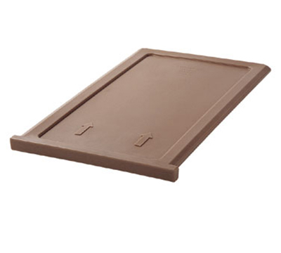 "Cambro 300DIV157 ThermoBarrier Insulated Shelf - 20-3/16x13x1"" Coffee Beige"