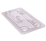 Cambro 30CWL135 FlipLid Food Pan Cover - 1/3 Size, Hinged, Clear