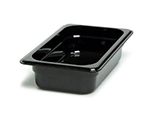 "Cambro 42CW135 Camwear Food Pan - 1/4 Size, 2-1/2""D, Clear"