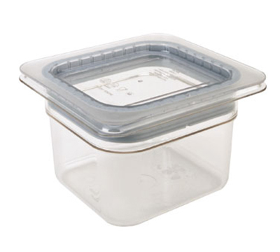 Cambro 60CWGL135 Food Pan GripLid - 1/6 Size, Clear