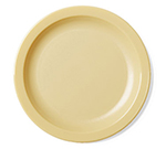 "Cambro 65CWNR401 6-9/16"" Camwear Plate - Slate Blue"