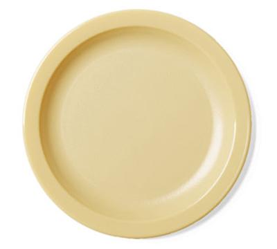 "Cambro 65CWNR133 6-9/16"" Camwear Plate - Beige"