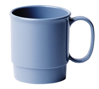 Cambro 75CW401 7-1/2-oz Camwear Cup - Stacking, Slate Blue