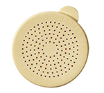 Cambro 96SKRLD406 Replacement Lid - Salt/Pepper Shaker/Dredge, Beige