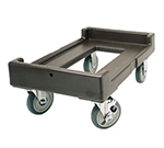 "Cambro CD160180 Camdolly - 24-1/2x16-1/2x10-3/8"" 300-lb Capacity, Gray"