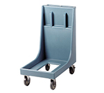 "Cambro CD300H401 Camdolly with Handle - 30-1/2x19x36-1/2"" 350-lb Capacity, Slate Blue"