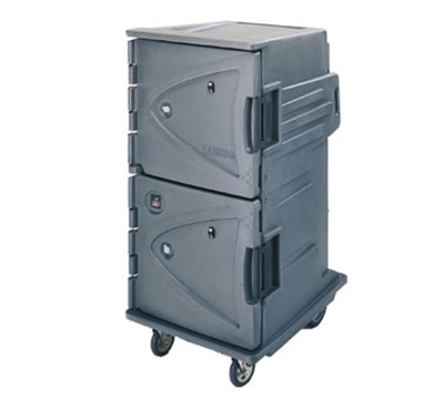 Cambro CMBHC1826TBC194 12-Tray Combination Meal Delivery Cart, 110v