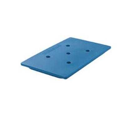 "Cambro CP1210159 Camchiller - Half-Size, 10-3/8x12-3/4x1-1/2"" Cold Blue"