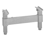 "Cambro CSDS14480 14"" Camshelving Dunnage Support - Speckled Gray"
