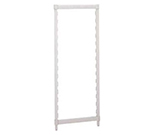 "Cambro CSPK1884480 Camshelving Post Kit - 18x84""  Speckled Gray"