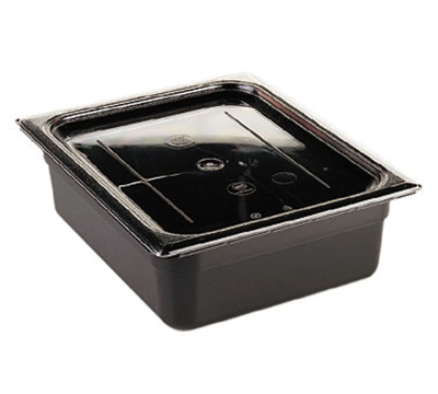 Cambro 10CWC135 Camwear Food Pan Cover - Full Size, Flat, Clear