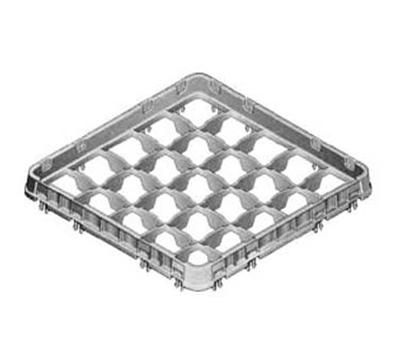 Cambro 16E2151 Half Drop Camrack Extender - Full Size, 16-Compartment, Soft Gray