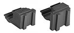 Cambro ECC 580 Camshelving Elements Corner Connector Set - Brushed Graphite