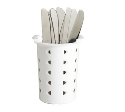 Cambro FWC56 Flatware Cylinder - White