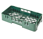 Cambro HBR258119 Camrack Base Rack - Half-Size, Sherwood Green