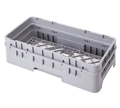 Cambro HBR414151 Camrack Base Rack with Extender - Half-Size, Soft Gray