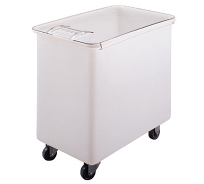Cambro IB44 42-1/2-gal Mobile Ingredient Bin - Sliding Cover, White