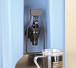Cambro LCDES110 LCD Spigot Easy Serve Dispenser, Black