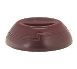 "Cambro MDSD9487 9"" Shoreline Collection Plastic Dome Cover - Cranberry"