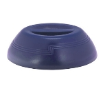 "Cambro MDSD9497 9"" Shoreline Collection Plastic Dome Cover - Navy Blue"