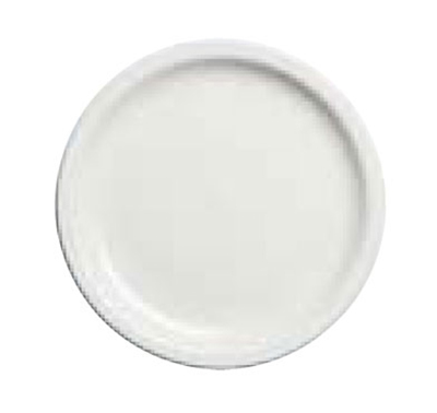 "Cambro MDSPLT9000 9"" Meal Delivery System Plate - Ceramic, Ivory"