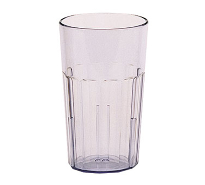 Cambro NT14152 14-oz Newport Fluted Tumbler - Clear